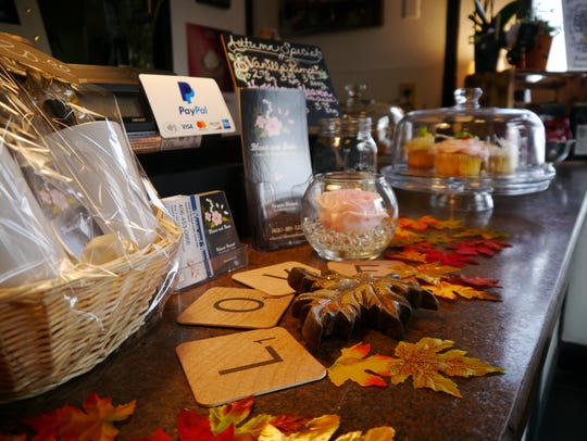 Bloom and Bean coffee and flower shop opened Sept.
