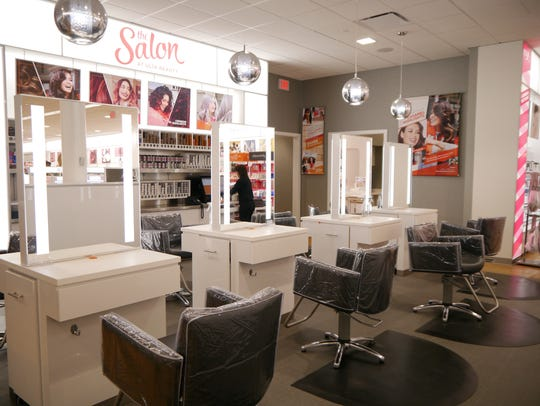 Ulta Beauty features a full-service hair salon and