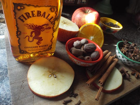 Fresh spices make a great hot cider.