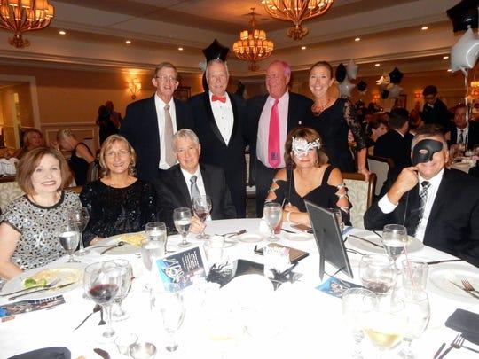 20 - Friends.jpg (Seated) Terry Swett, Amy Banov, Robert