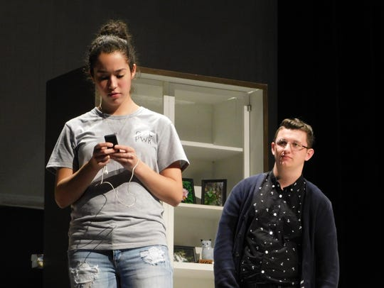 Tessa Roseau (Alice) and Christopher Bedwell (Jack)