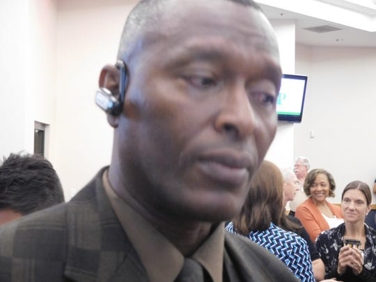 Alfred Perry, of Fort Pierce