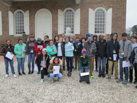 Wardlaw+Hartridge Seventh Graders enjoy exploring Colonial