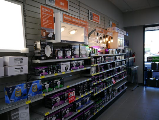 In addition to batteries, Batteries Plus Bulbs carries