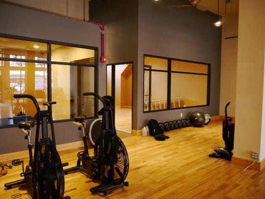 The new Anchor Fitness building features more workout