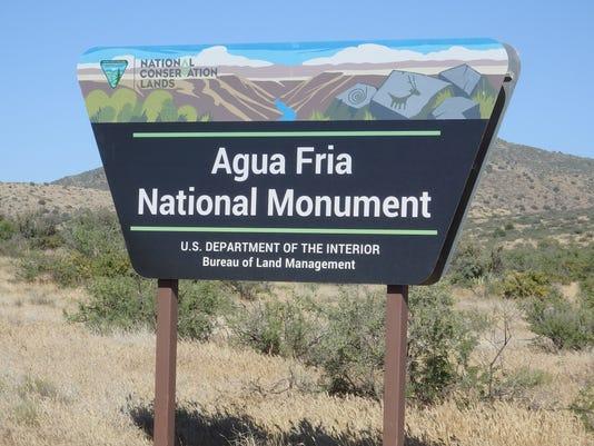 Agua Fria monument