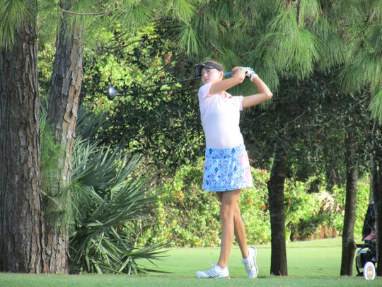 Nicole Cee won the South Florida PGA Junior Tour Championship