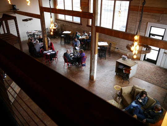 5th and Wine serves lunch, dinner and Saturday brunch