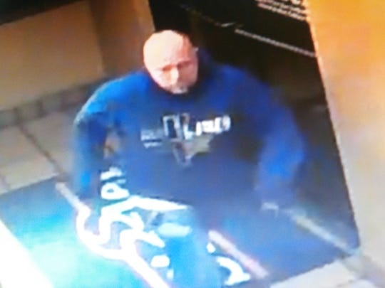 Sparks police released this surveillance photo of a suspect in a Jan. 24, 2018 burglary at the Sizzler restaurant in Sparks. Afterward, there was a standoff with police and a SWAT team, but the building was found empty.