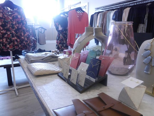 Sora and Co. carries boutique clothing, shoes and accessories.