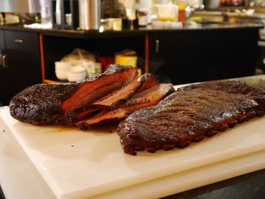 Each Big Mouth BBQ brisket is slow-cooked for 12-20
