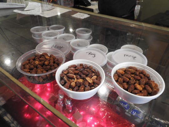 Fried peanuts are one of the specialties of Fiore's