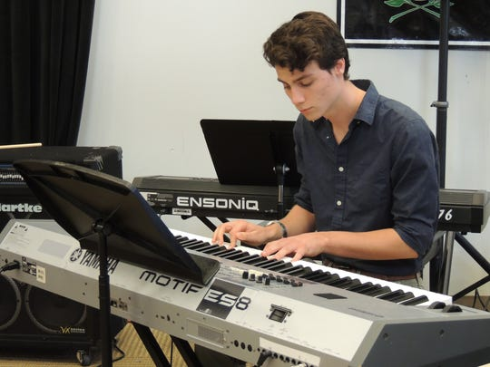 Michael Campion Indian River Charter High School playing piano.