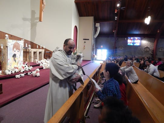 Fr. Anthony Sirianni, pastor of St. Helena Church,