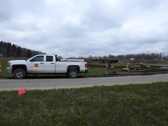 Beaver Excavating is starting preliminary work for the estimated $18.8 million bridge replacement project at the Ohio 16 and Ohio 541 interchange. The work will be completed over the next three years.
