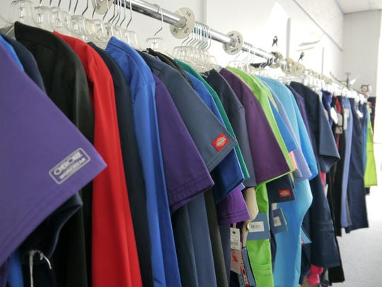 Uniforms Plus sells scrubs, chef wear and some dancewear