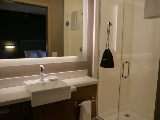 SpringHill Suites hotel is meant for the business traveler