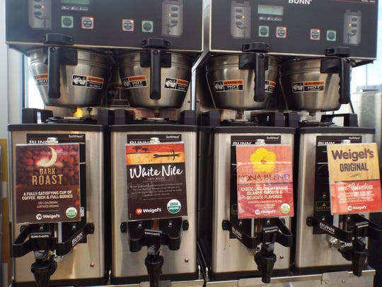 Weigel's offers multiple blends and roasts. But considering
