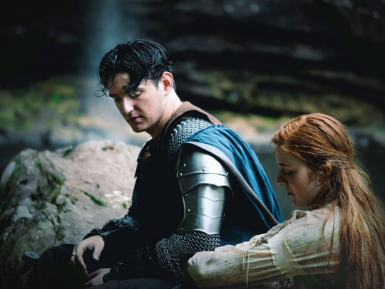 """A scene from """"Sir Kenrick of Penwell,"""" a medieval fantasy"""