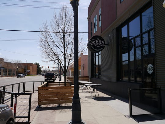 Enbar is the second Great Falls business to take advantage of the Business Improvement District's pedlet program.