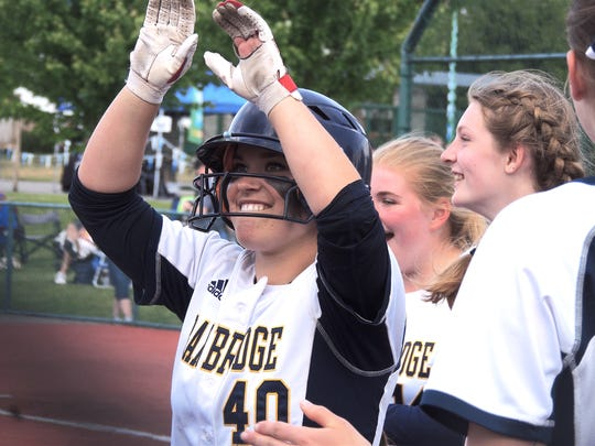 Bainbridge senior Maddie Loverich led the Spartans to a pair of victories at the Class 3A state tournament. She hit .450 with 40 RBIs and six home runs for the season.