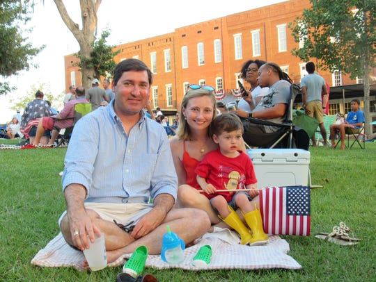 A colorful parade starts Fourth of July festivities
