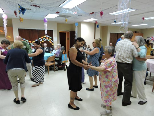 Senior Prom for SAGE Eldercare's Spend-A-Day Adult Day Adult Day Health Care Program was held on June 13.