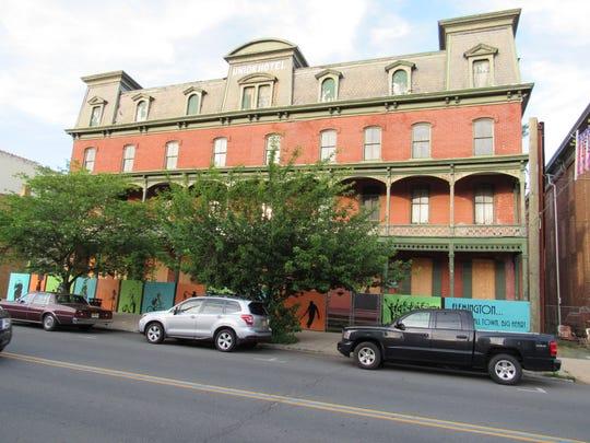 The Union Hotel on Main Street, Flemington