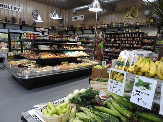 The new McKenna's Farm Market will feature area produce,