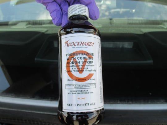 Nearly $150,000 worth of codeine was seized near Tucson