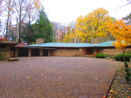 Kentuck Knob home is located just outside Chalkhill,