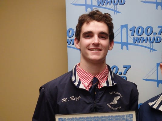 Matt Rizzo, Bronxville cross country, Consolidated Edison Athlete of the Week