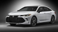 Toyota gives its flagship Avalon sedan a makeover