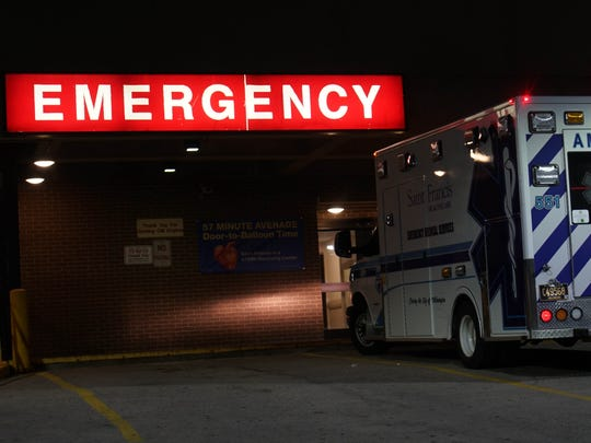 St. Francis Hospital emergency room sees several opioid overdoses weekly in the City of Wilmington. Patients come by ambulance and are often left on the sidewalk incapacitated.