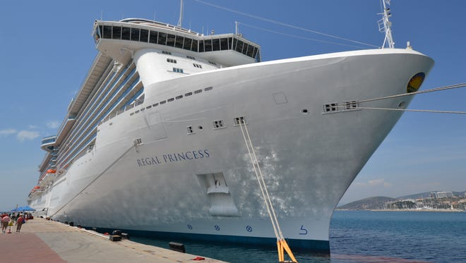 Princess Cruises' newest ship, the 3,560-passenger Regal Princess, debuted in May 2014 in the Mediterranean. What's the vessel like? USA TODAY cruise editor Gene Sloan offers a photo tour.