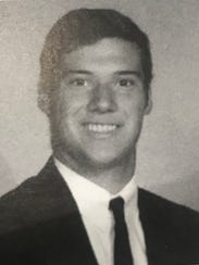 Zachary Anthony pictured in his 2007 high school yearbook.