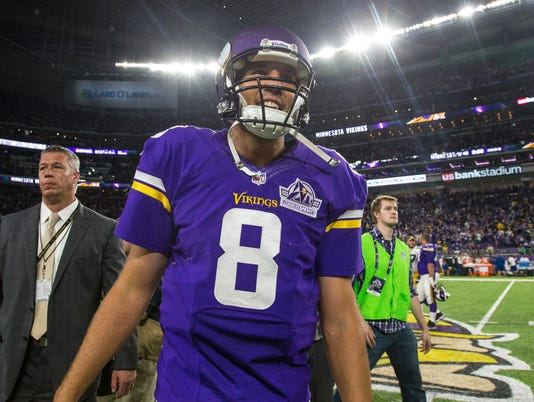 USP NFL: GREEN BAY PACKERS AT MINNESOTA VIKINGS S FBN USA MN