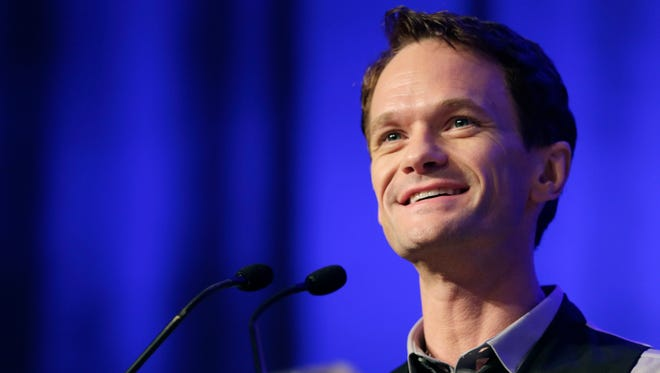 Neil Patrick Harris speaks at Book Expo America in New York on May 29, 2014. On Tuesday, Oct. 28, 2014, NBC announced that the network is bringing Harris back to series television as host of a comedy-variety series.
