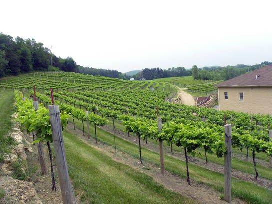 Wollersheim Winery in Prairie du Sac is open year-round,