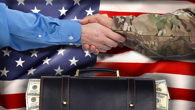 Military contracts for the Department of Defense.