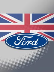 Ford Motor Co. said it will be hit twice by U.K. tariffs to be imposed in the event of a no-deal Brexit.