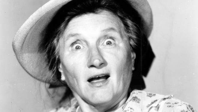 "Marjorie Main from ""Ma and Pa Kettle go to Town""."