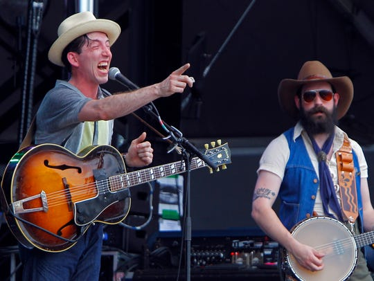 Pokey LaFarge (which includes Andrew Heissler, left)