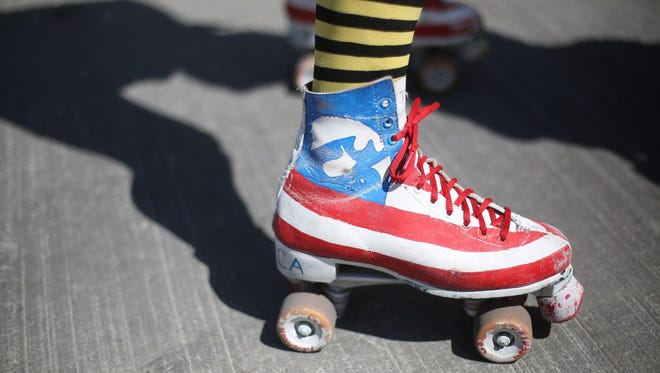 Skate the night away in funky fashion this weekend at Roller Hall.