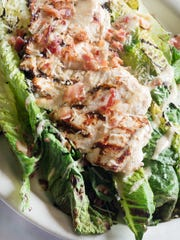 A grilled Caesar salad at the Penfield Pour House is