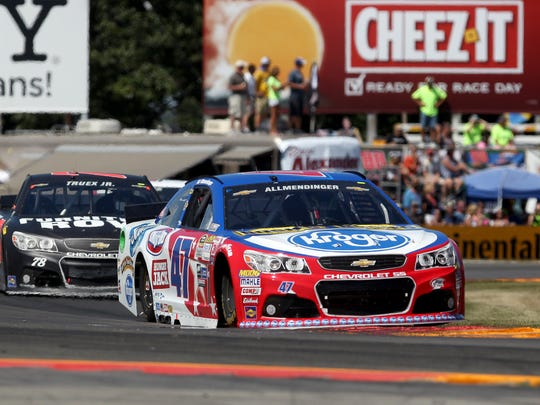 AJ Allmendinger (47) has three top-five finishes in eight career Cup races at Wakins Glen International.