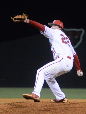 Petal pitcher Ty Barnes has been named the Hattiesburg American's Player of the Year.