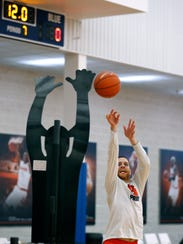 Eric Devendorf has averaged 18 points in four The Basketball