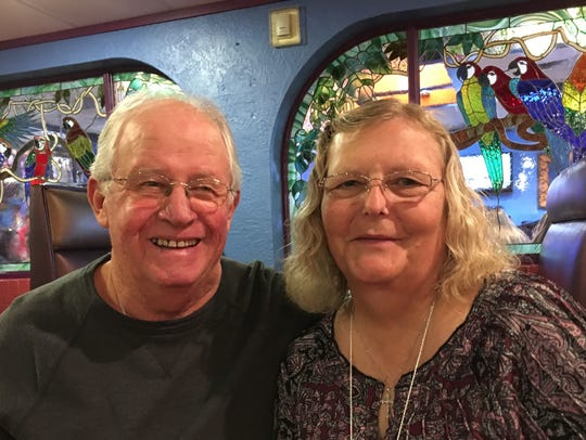 New San Angelo residents Dee and John Freeman, relocated