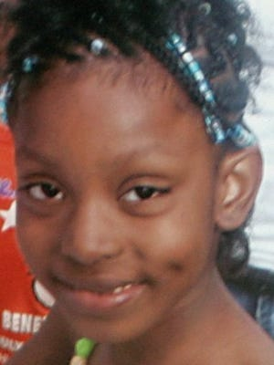Aiyana Stanley-Jones was sleeping on a couch when she was shot in the head by a round from Officer Joseph Weekley's  gun.